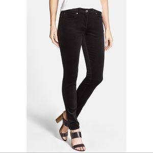 [Eileen Fisher] Black Corduroy Skinny Pants